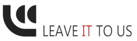 LC Computers – Leave IT to us Logo